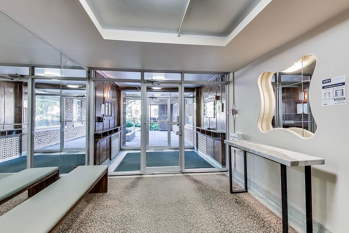 Lobby of Cottingham Manor Apartment Building in Toronto