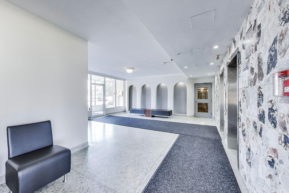 Lobby at Humber River Apartments near Keele & Wilson